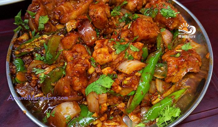 Chilli Chicken Hotel Tandoor KitchenAdyar Mangalore Restaurant - Hotel Tandoor Kitchen, Adyar