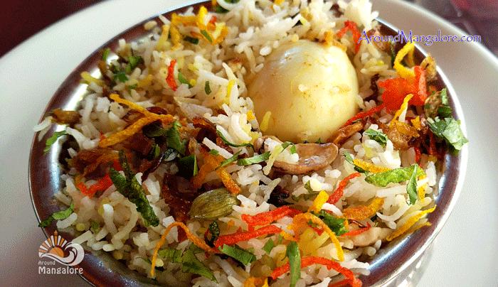 Egg Biryani Hotel Tandoor KitchenAdyar Mangalore Restaurant - Hotel Tandoor Kitchen, Adyar
