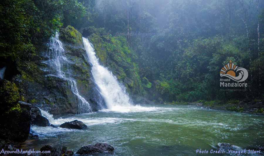 Jogigundi Falls Agumbe Karnataka Around Mangalore P1 - Jogigundi Falls, Agumbe