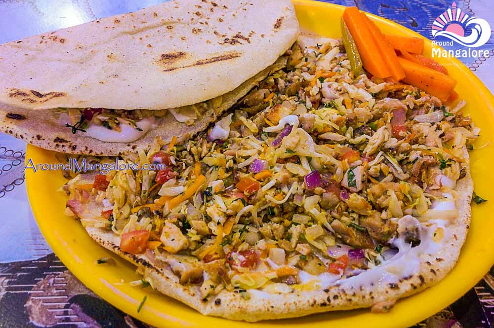 Chicken Plate Shawarma Stomach Food Cafe Surathkal NITK Mangalore - Stomach Food Cafe - Surathkal