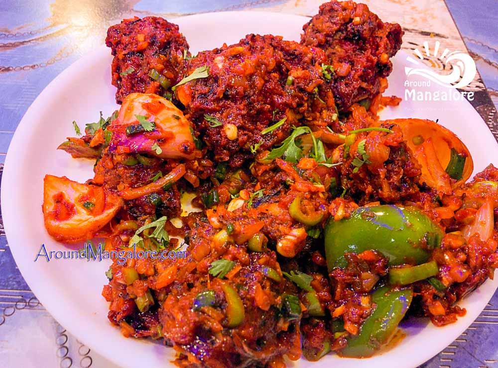 Veg Schezwan Stomach Food Cafe Surathkal NITK Mangalore - Stomach Food Cafe - Surathkal