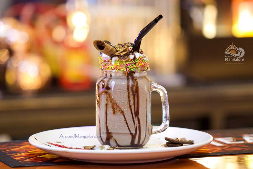 Oreo Shake ONYX Air Lounge Kitchen MG Road Mangalore - ONYX Air Lounge & Kitchen - M G Road