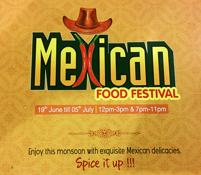Mexican Food Festival, Ocean Pearl, Mangalore