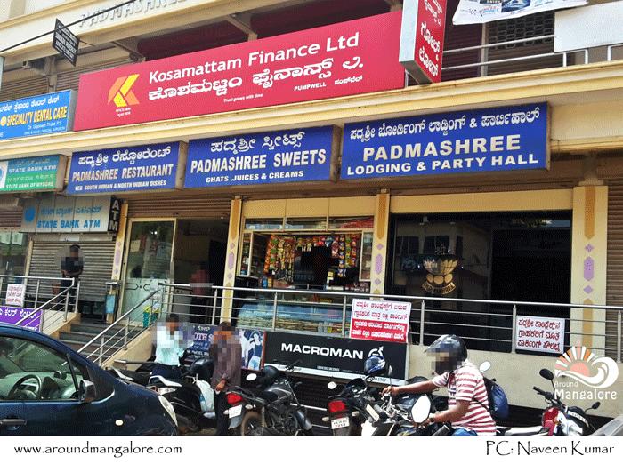 Padmashree Restaurant, Pumpwell, Mangalore