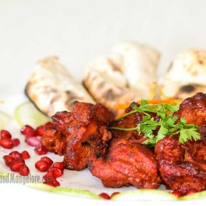 Anari Kebabs with Kawachi Roti - Maharaja Restaurant, Mangalore