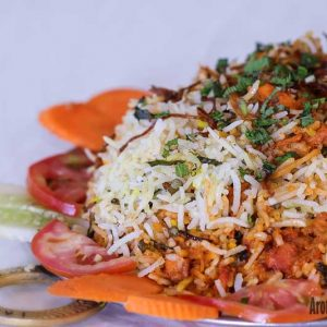 Chicken Tawa Pulao - Maharaja Restaurant, Mangalore