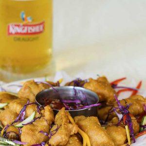 Fish Golden Fry - Maharaja Restaurant, Mangalore