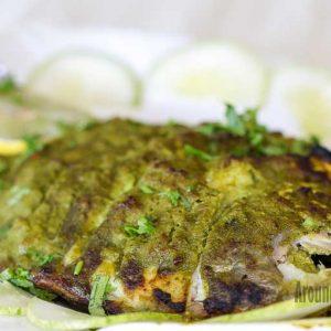 Pomfret Tandoori Hariyali - Maharaja Restaurant, Mangalore