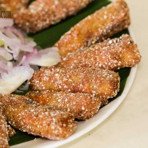Silver Fish Rava Fry - Maharaja Restaurant, Mangalore
