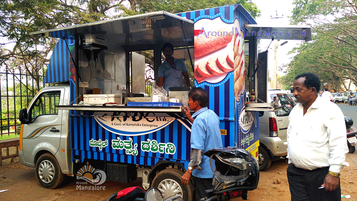 KFDC Stall – KFDC Ltd – Mobile Mathsya Darshini