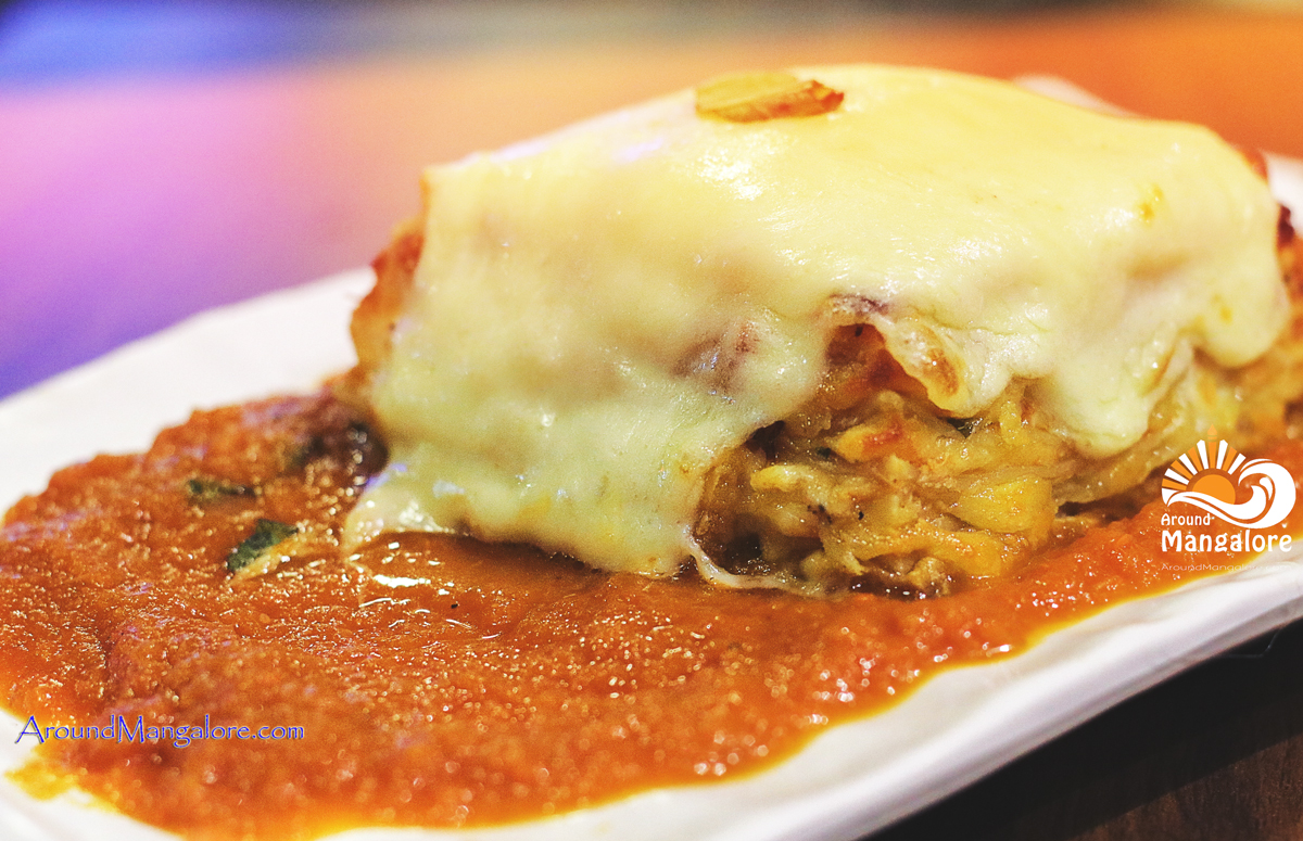 Lasagne alla Naapoletana Scirocco – The Pizzeria – Italian Restaurant Mangalore - Scirocco - The Pizzeria - Italian Restaurant