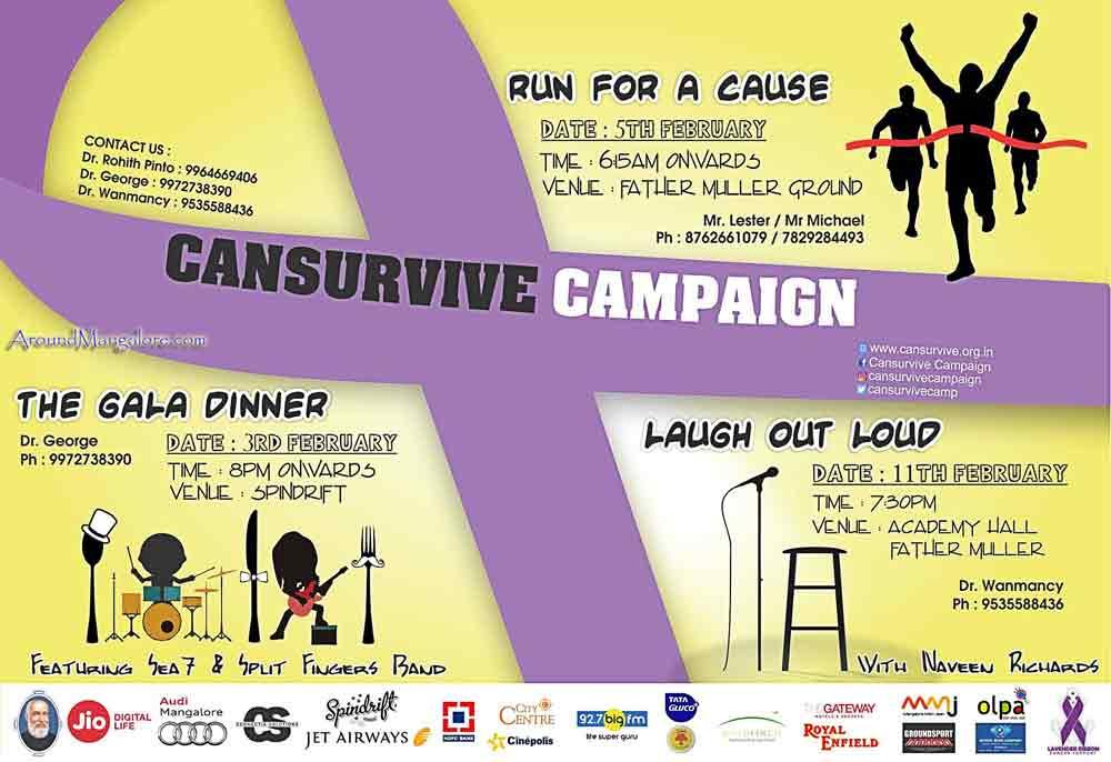 Cansurvive Campaign – Feb 2017