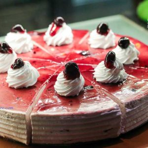 Blueberry Cheese Cake - ONYX Air Lounge & Kitchen - MG Road, Mangalore