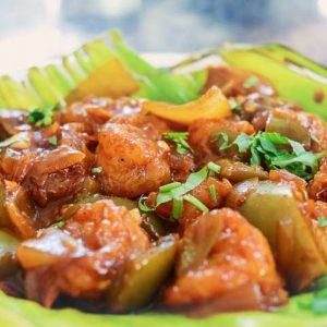 Prawns Chilli Macchis Tulunada Vanas Alape Padil Mangalore 300x300 - Macchi's Sea Food Restaurant - Tulunada Vanas -Padil
