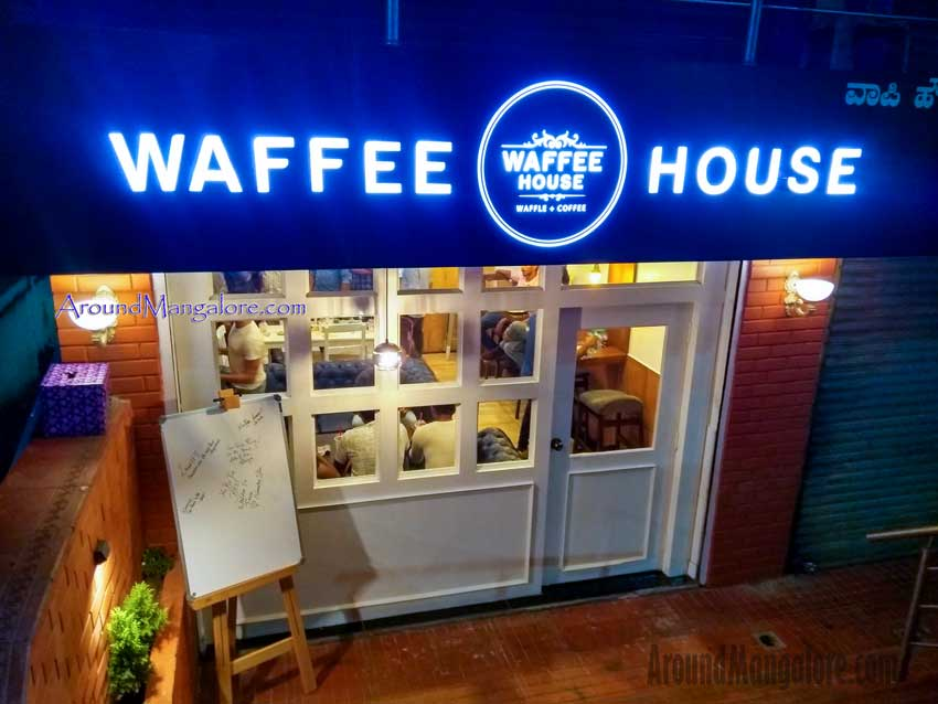 Waffee House - Cafe - Waffle plus Coffee - Bendoorwell, Mangalore