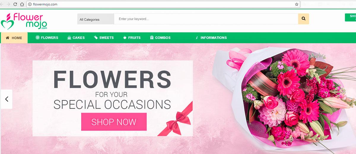 Flower Mojo – Online Flower & Gift delivery