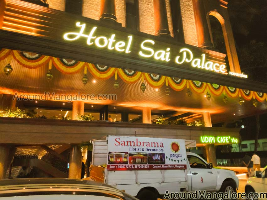 The House of Flavours -Hotel Sai Palace – Navaratna –  UDIPI Cafe – Hampankatta