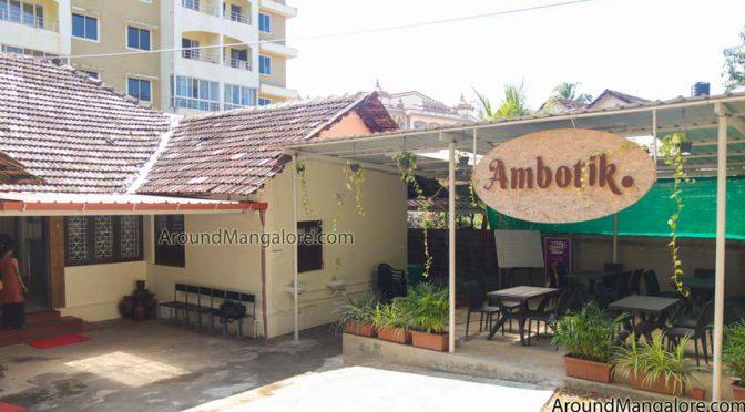 Ambotik - Sea Food Restaurant - Mannagudda, Mangalore