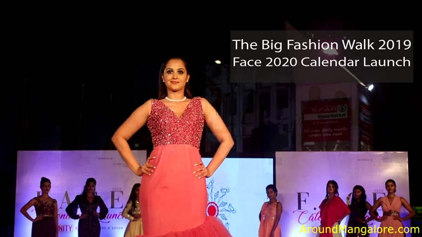 The Big Fashion Walk - Face 2020 Calendar Launch - 7 Dec 2019 - The Forum Fiza Mall, Mangalore
