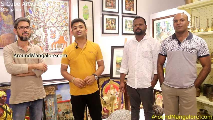 S Cube Art Gallery - Mannagudda / Carstreet, Mangalore