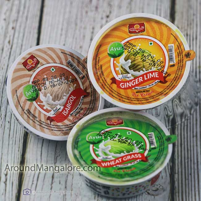 AYUR series by Hangyo - Isabgol, Wheatgrass and Ginger Lime Ice Cream