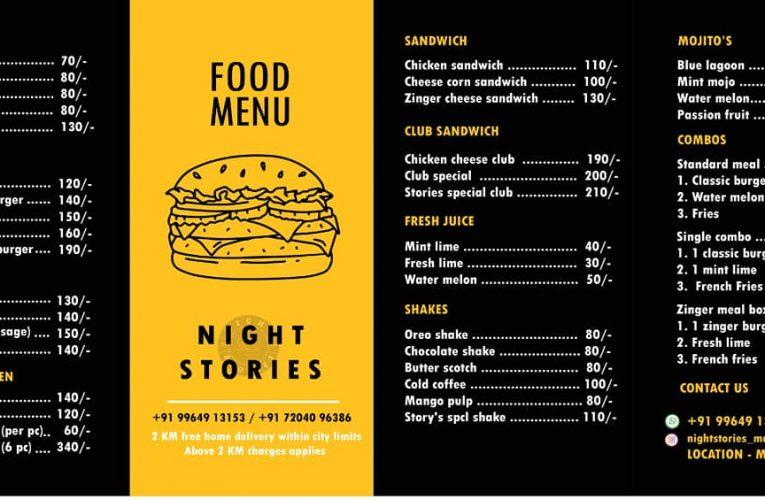 Night Stories – Cloud Kitchen