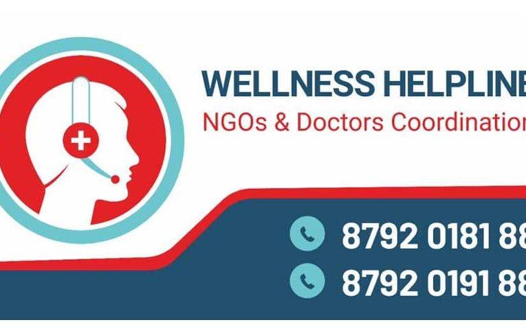 Wellness Helpline – NGOs & Doctors Coordination