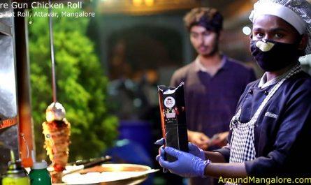 Fire Gun Chicken Roll - Big Fat Roll, Attavar, Mangalore