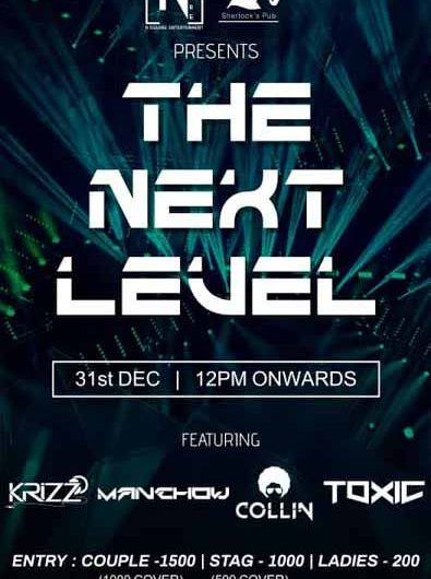 The Next Level – 31 Dec 2020 – Sherlocks, Hotel Goldfinch, Mangalore