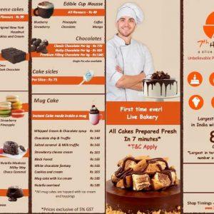 Cake Menu 7th Heaven Cake Shop P2 300x300 - 7th Heaven - Cake Shop -  Kundapur, Karnataka