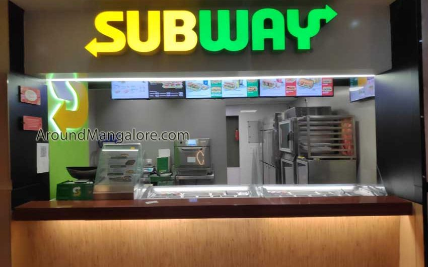 Subway – City Centre Mall, Mangalore