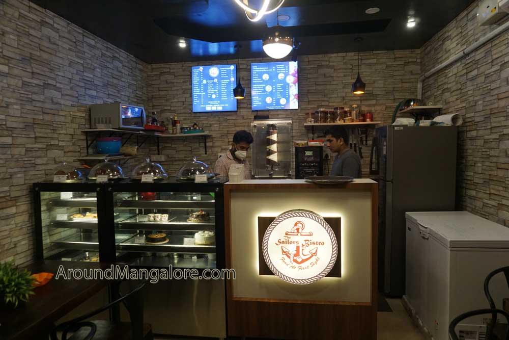 The Sailors Bistro - Cafe - Empire Mall, MG Road, Lalbagh, Mangalore, Karnataka