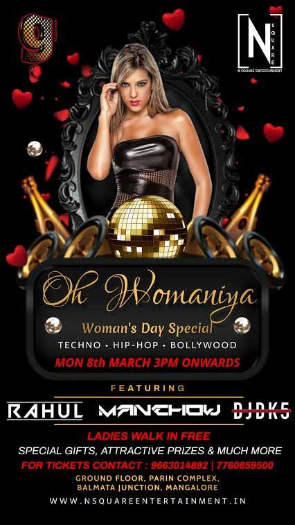 Oh Womaniya - Woman'a Day Special - 8 Mar 2021 - G Food and Fun, Mangalore