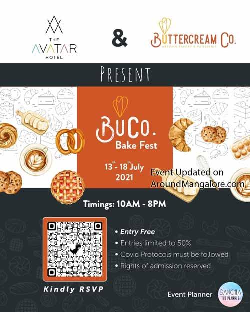 BuCo. Bake Fest - 13 to 18 Jul 2021 - The Avatar Hotel, Attavar Mangalore