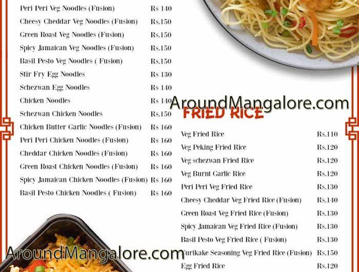 Shanghai Fusion – Cloud Kitchen in Mangalore