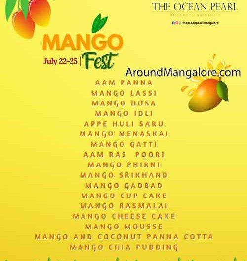 Mango Fest – 22 – 25 Jul 2021 – The Ocean Pearl, Mangalore