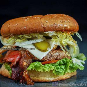 Pork Escobar Burger - Pascal Pao - Cloud Kitchen in Mangalore