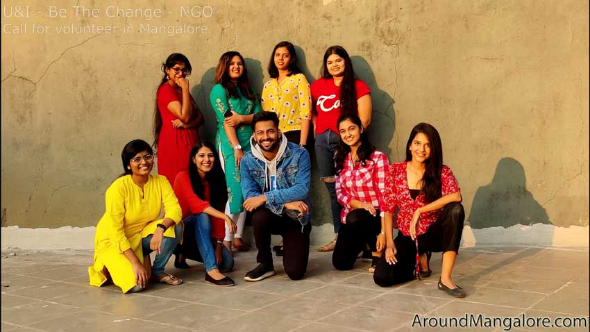 U&I – Be The Change – NGO – Signup for a volunteer in Mangalore