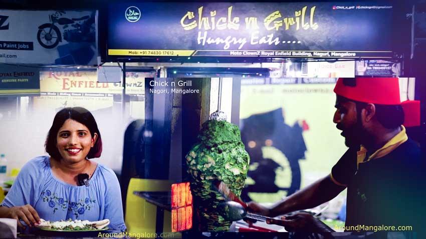 Chick n Grill Restaurant with Hariyali Chicken Shawarma – Nagori, Mangalore