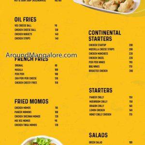 Food Menu - Nyzew Restocafe - Deralakatte, Mangalore