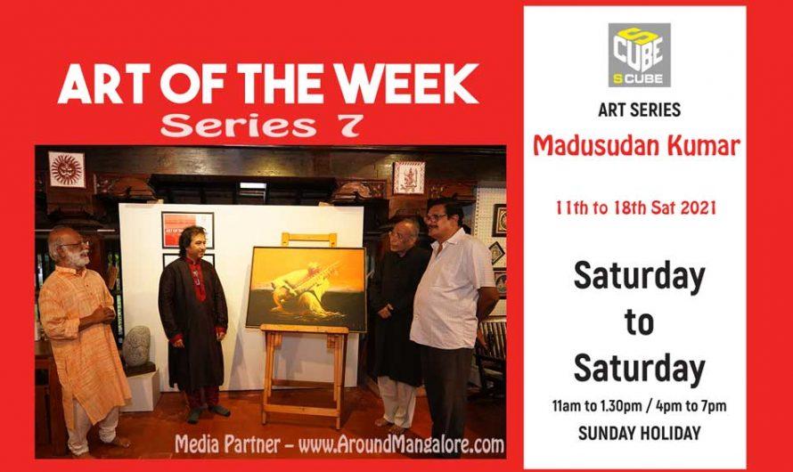Art of the Week (Series 7) – Megh Malhar – Oil on Canvas – Madusudan Kumar – Sep21