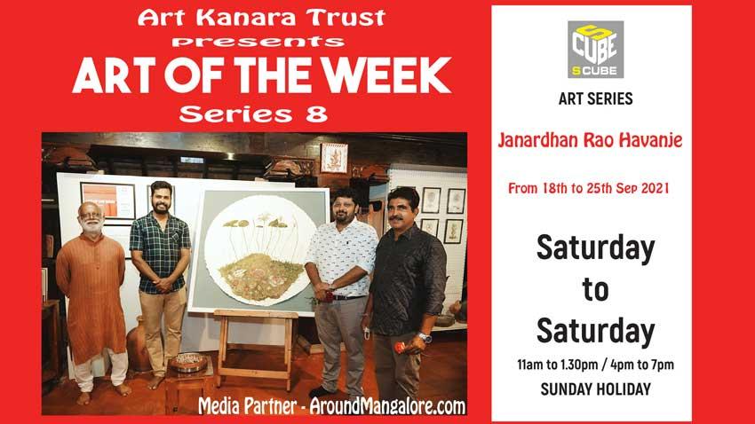 Art of the Week (Series 8) – Old roots new shoots series – by Janardhan Rao Havanje – Sep21