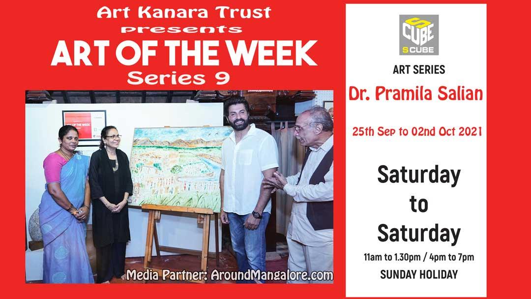 Art of the Week (Series 9) – Beneath the Open Sky – by Dr. Pramila Salian – Sep21