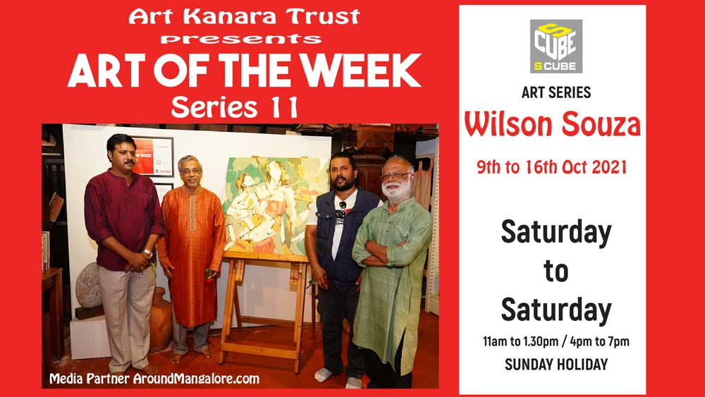 Art of the Week (Series 11) – Oil on Canvas by Wilson Souza – Oct21