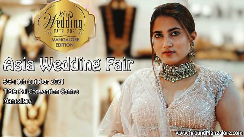 Asia Wedding Fair - 8-9-10th October 2021 at TMA Pai Convention Centre, MG Road, Mangalore
