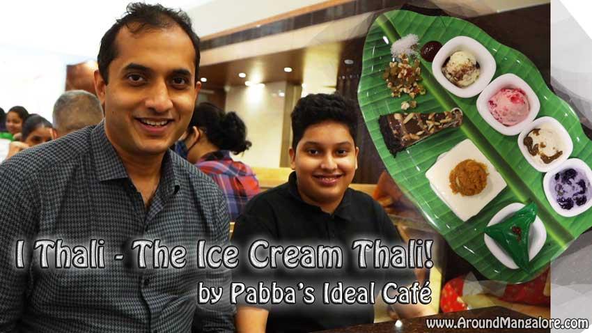 I Thali – The Ice Cream Thali!  by Pabba's Ideal Café